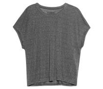 T-Shirt mit Lurex-Details