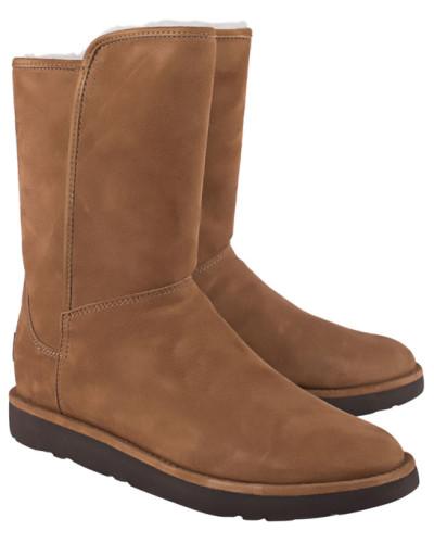 Lammfell-Boots mit Zipper