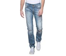 Jeans mit Farbklecksen