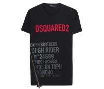 T-Shirt mit Zipper-Detail
