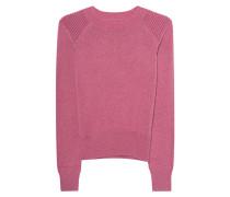 Pullover mit Ripp-Details