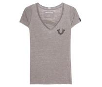 T-Shirt mit verziertem Rückenprint