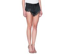 Destroyed Mid-Waist-Shorts