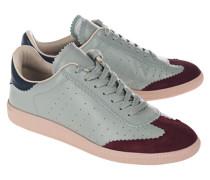 Mehrfarbige Leder-Sneaker