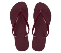 Flip Flops mit Samt-Riemen