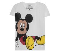 Bedrucktes T-Shirt mit Strassteinen