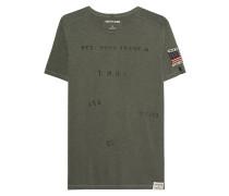T-Shirt mit Schriftzügen
