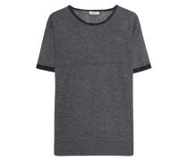 Meliertes Leinen-Shirt
