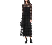 Langes Kleid aus Mesh