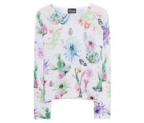 Pullover mit floralem Motiv