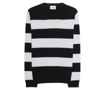Gestreifter Woll-Pullover