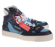 High Top Leder-Sneaker