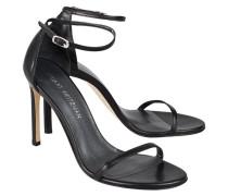Glattleder-Sandalette