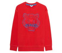 Sweatshirt mit Tiger Aufdruck