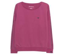 Sweatshirt mit Strass-Verzierung