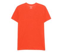 Leinen-Mix-T-Shirt