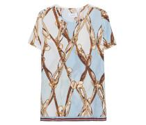 Limited Edition Seiden-Blusen-Shirt