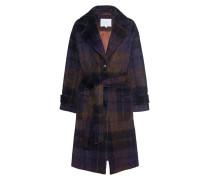 Woll-Mix Mantel mit Gürtel