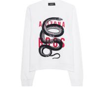 Sweatshirt mit Schlangen-Motiv