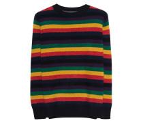 Gestreifter Kaschmir-Pullover