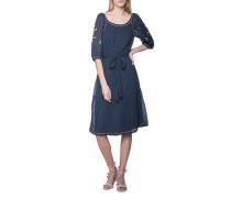 Baumwoll-Kleid mit Stickerei