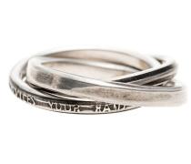 3 Sterling-Silber-Ringe