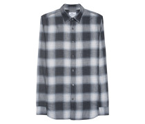 Kariertes Baumwoll-Hemd