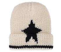 Woll-Mütze mit Stern
