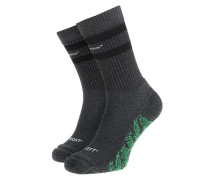 Socken mit Logo Schriftzug