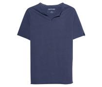 T-Shirt mit Schlitz-Ausschnitt