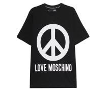 T-Shirt mit Peace-Print
