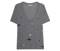 Bedrucktes Oversize Shirt
