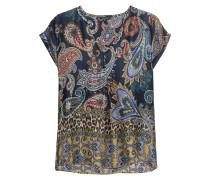 Blusen-Shirt mit Paisley-Muster