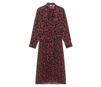 Bedrucktes Maxi-Kleid