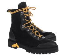Leder-Boots im Hiking-Look