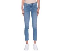 Mid-Waist Skinny-Jeans