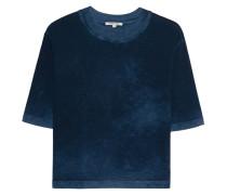 Kurzes Baumwoll-T-Shirt