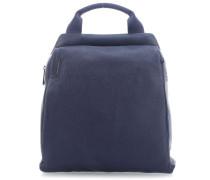 Mellow Leather Rucksack dunkelblau