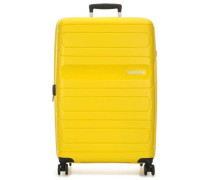 Sunside 4-Rollen Trolley gelb
