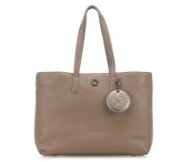 Mellow Leather Shopper braun