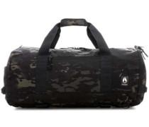 Pipes Reisetasche schwarz/grün