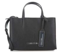 Sided Handtasche schwarz