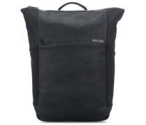 Soft Nubuk Vertiplorer Rucksack 15.6″ schwarz