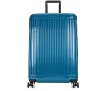 Seeker 4-Rollen Trolley blau
