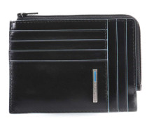 Blue Square RFID Kreditkartenetui schwarz