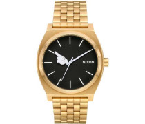 Mickey Time Teller Quarzuhr gold