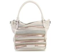 Pop Art Handtasche elfenbein