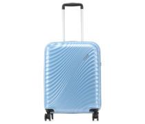 Jetglam 4-Rollen Trolley hellblau