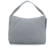 Mellow Leather Beuteltasche grau