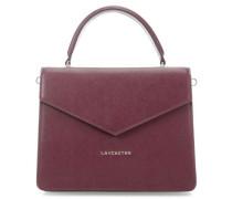 Saffiano Handtasche wein